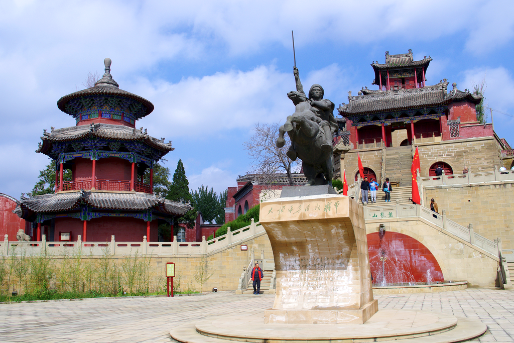 Statue of Li Zicheng, ?, Yulin, Shaanxi, China