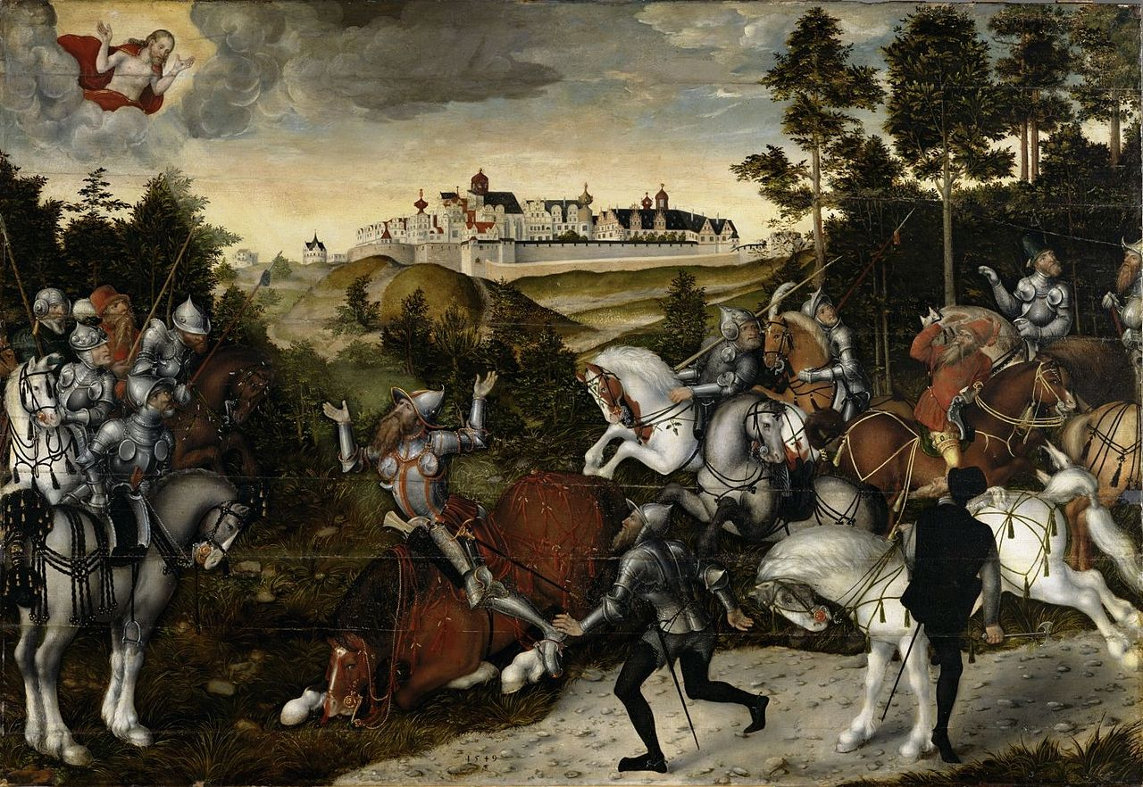 The Conversion of Saul, 1549, Lucas Cranach the Younger, Germany