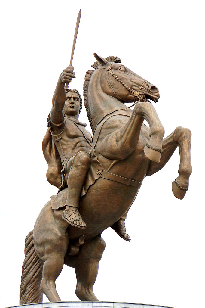 Warrior on a Horse (detail), 2011, Valentina Stevanovska, Skopje, Macedonia