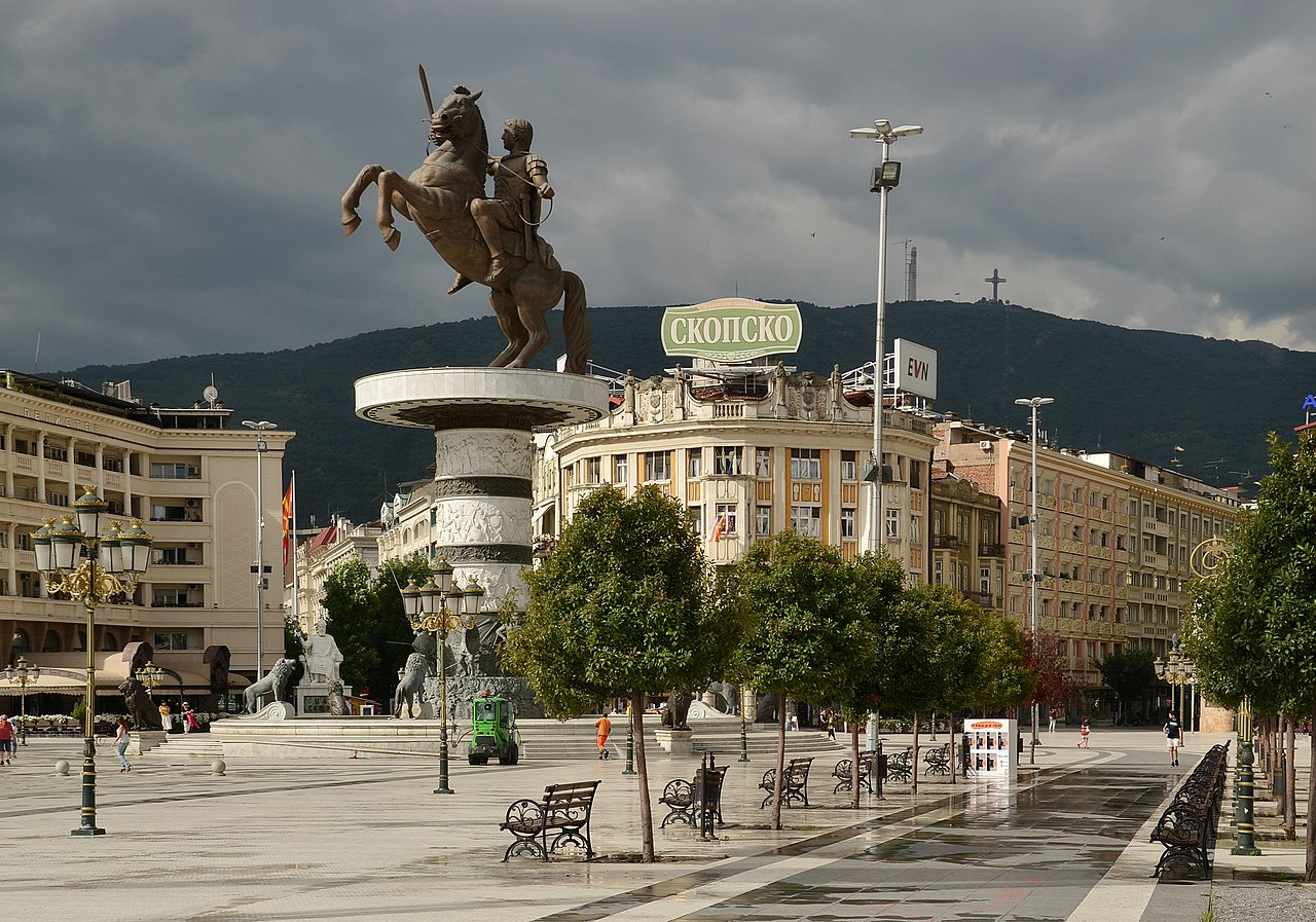 Warrior on a Horse, 2011, Valentina Stevanovska, Skopje, Macedonia