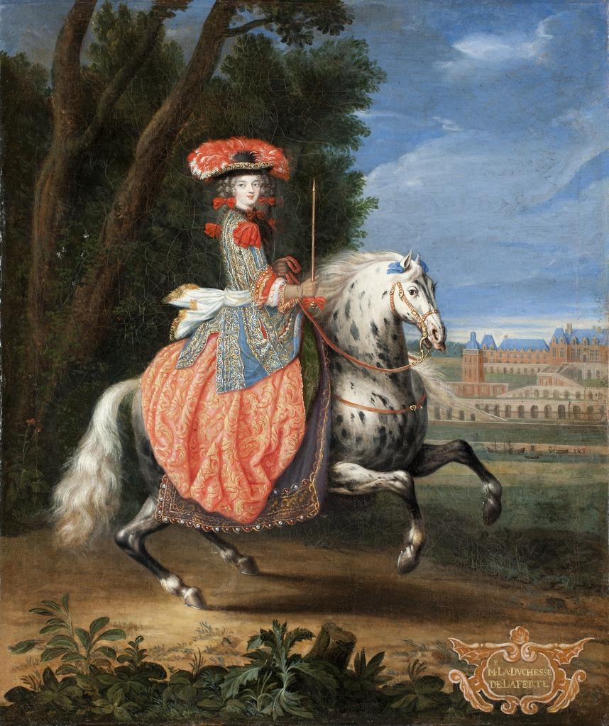 Marie Isabelle Gabrielle Angelique de Lamotte-Houdancourt, the Duchess of La Ferté