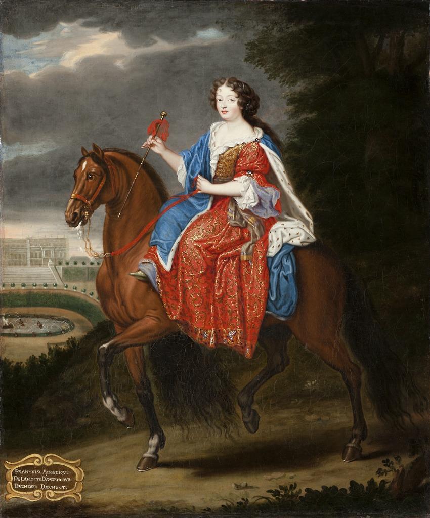 Francoise Angelique de Lamotte-Houdancourt, the Duchess of Aumont