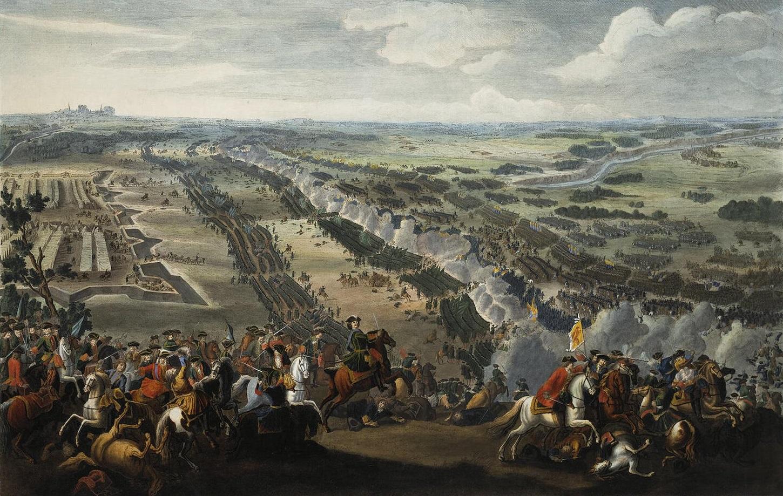 Battle of Poltava, Pierre-Denis Martin, 1726