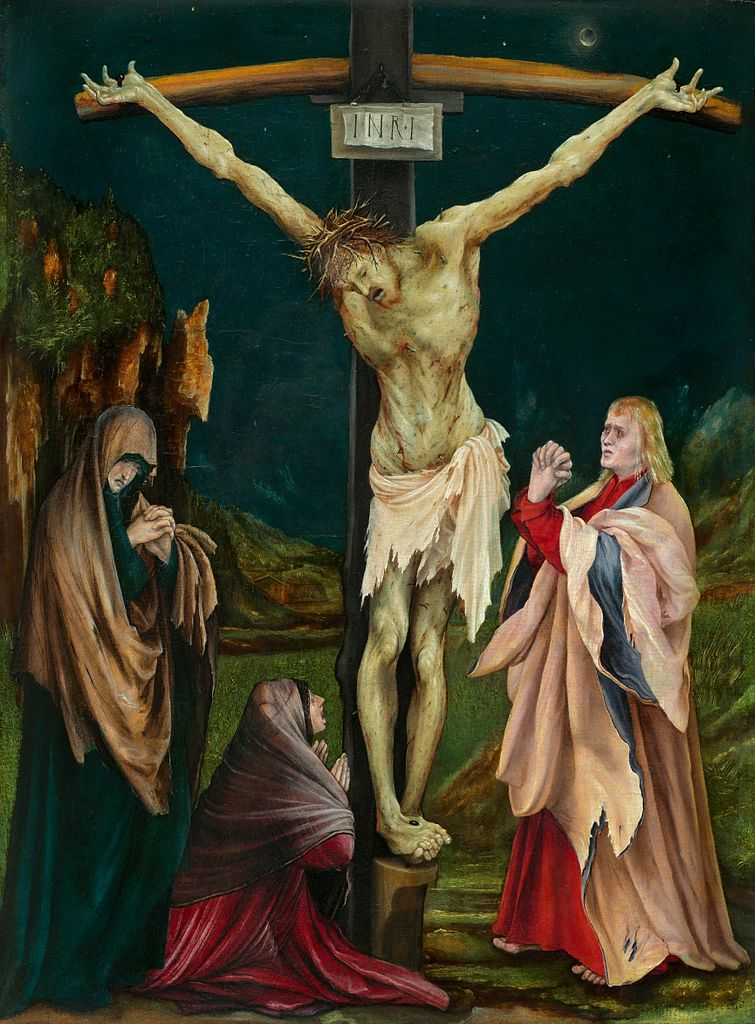 COMPARANDUM: The Small Crucifixion, cr. 1511-20, Matthias Grünewald, Germany