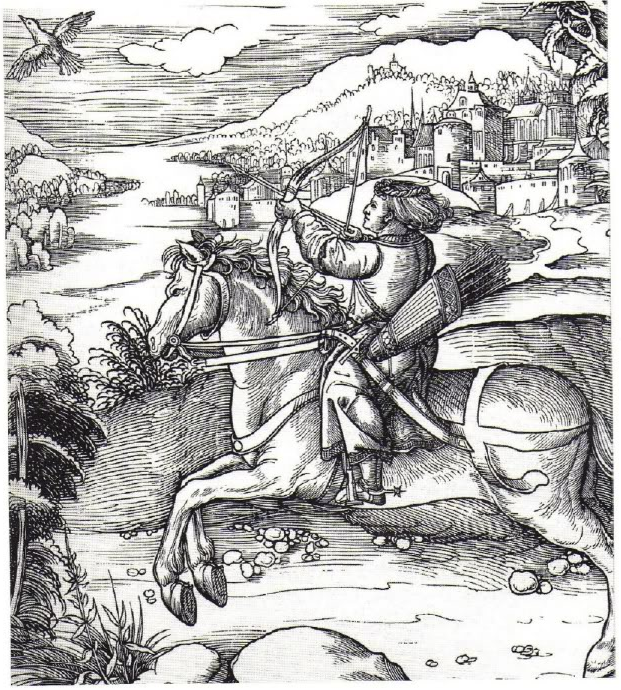 The Prince at the Bird-Catching, 1514-6, Leonhard Beck