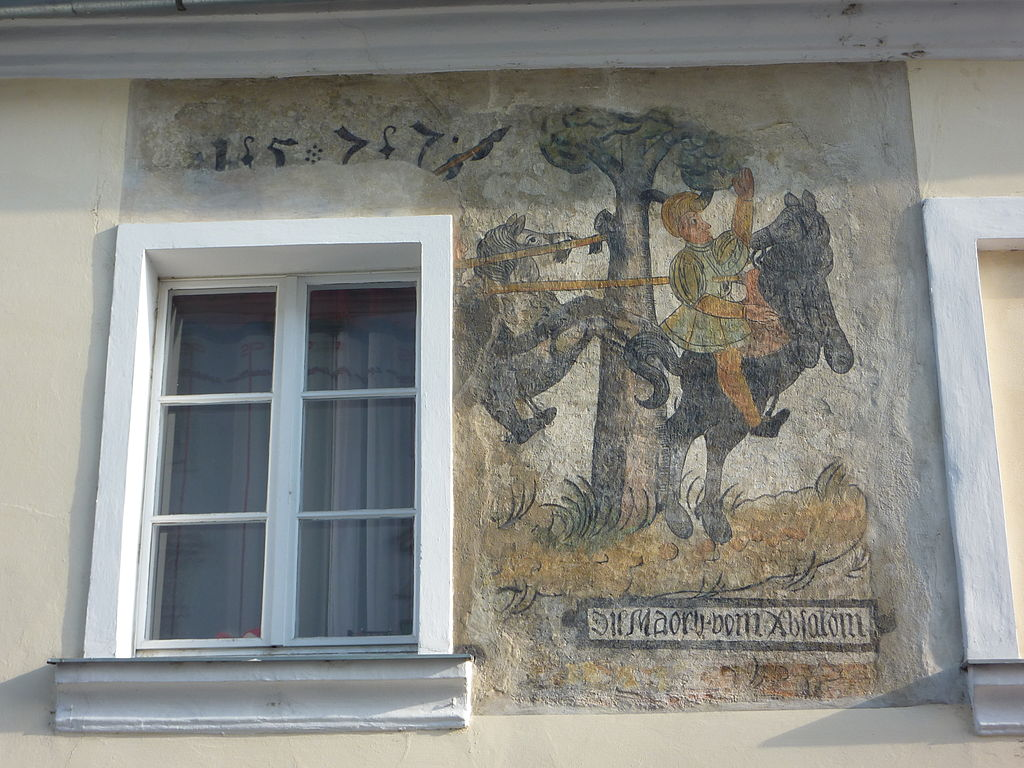 Death of Absalom, cr. 1577, Melk, Austria