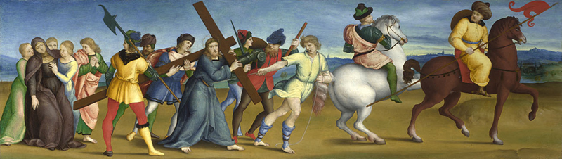 The Procession to Calvary, cr. 1504-5, Raphael, Italy