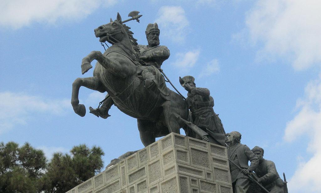 Nader Shah Statue,1956, Mashhad, Iran