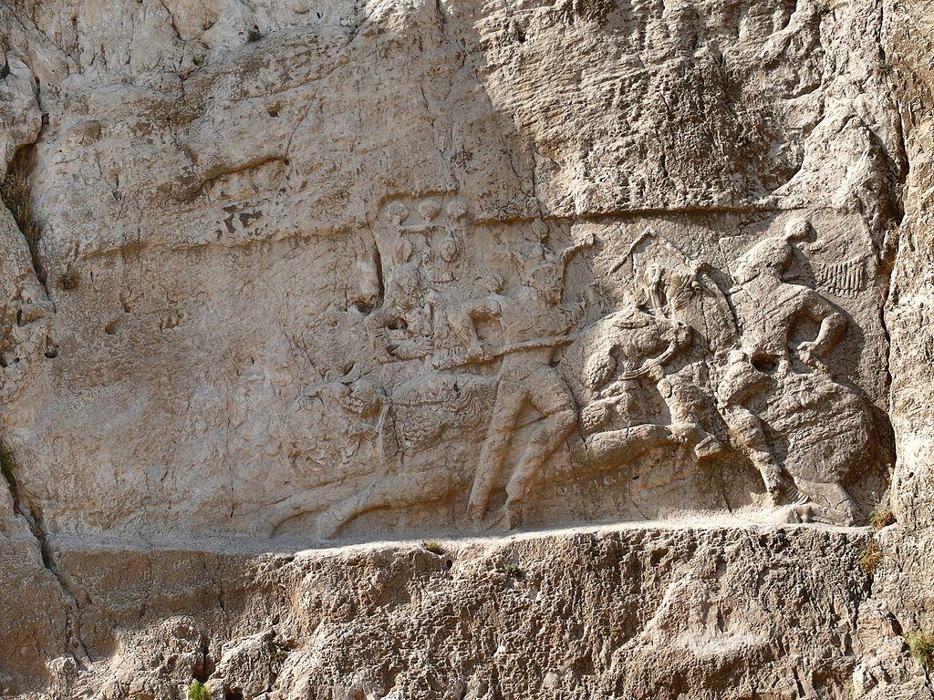 Equestrian reliefs of Bahram II,  necropolis of Naqsh-e Rostam, cr. 276–293, Sasanian, Naqsh-e Rostam, Persia