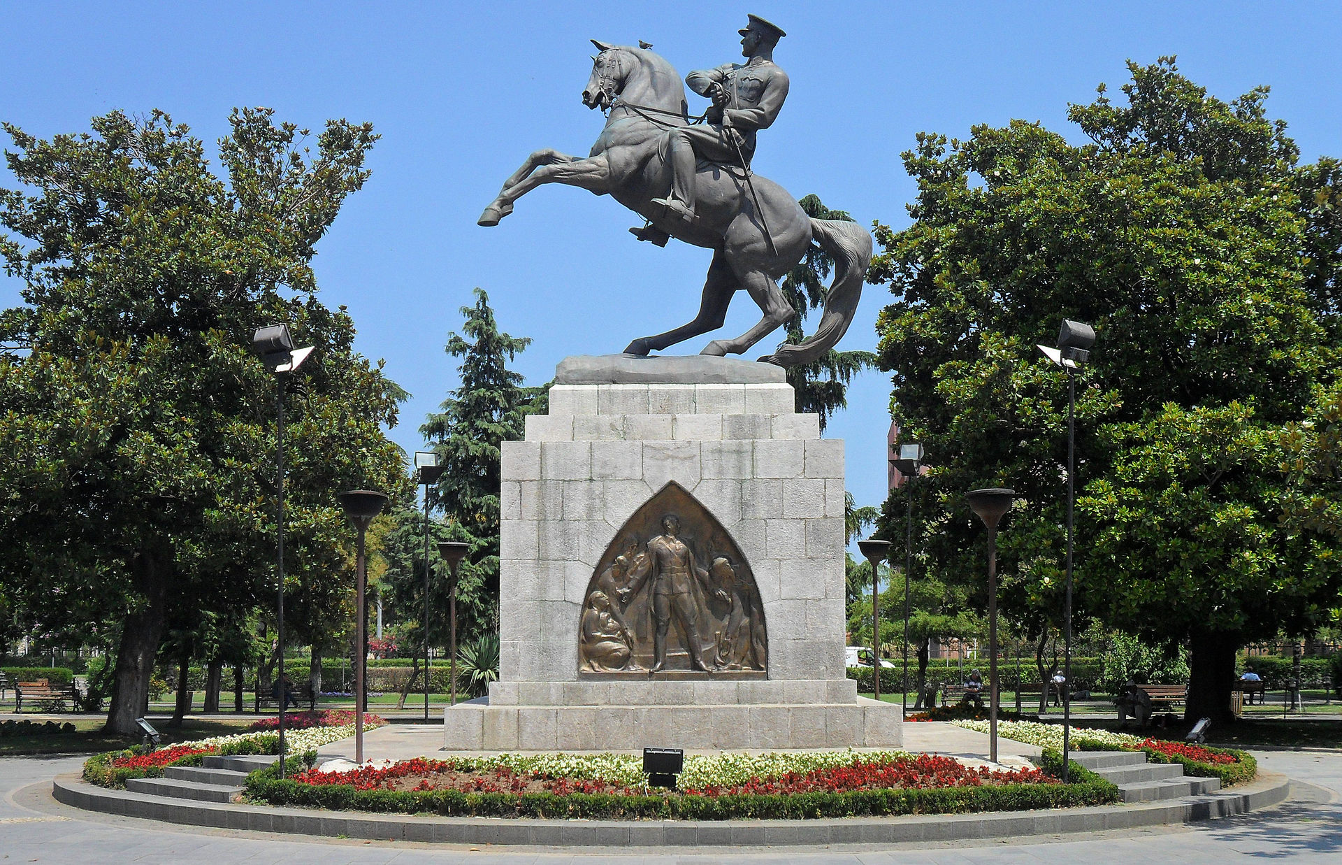 Statue of Honor (Atatürk Monument),1932, Samsun, Turkey