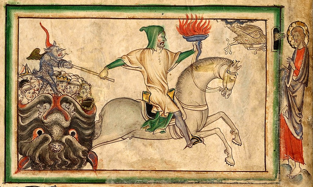 The Opening of the Fourth Seal: The Fourth Horseman, 1255-60, London (?), England