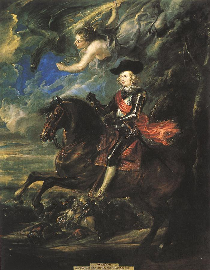 COMPARANDUM: The Cardinal-Infante Don Fernando de Austria at the Battle of Nördlingen, 1634-5, Peter Paul Rubens