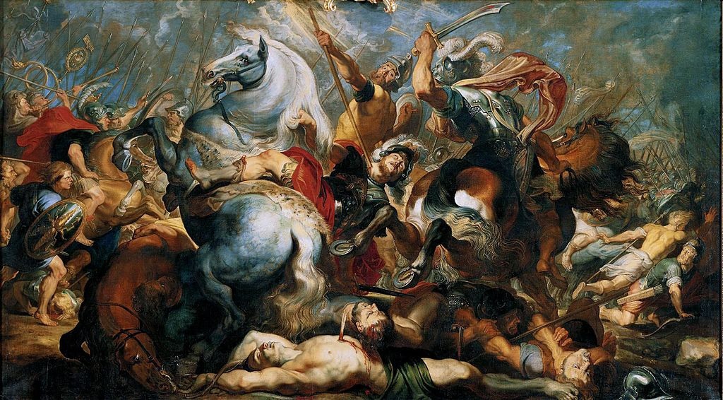 The death of Decius Mus in the battle, 1618, Peter Paul Rubens, Flandres