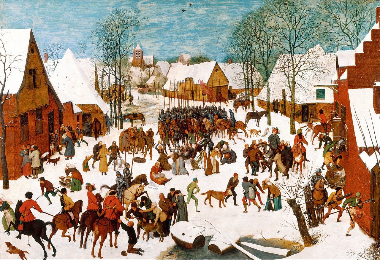 Massacre of the Innocents, 1565-7, Pieter Bruegel the Elder, Netherlands