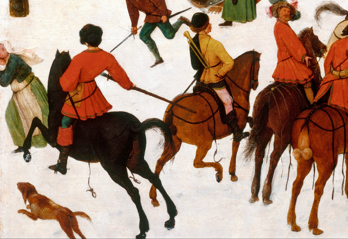 Massacre of the Innocents (detail), 1565-7, Pieter Bruegel the Elder, Netherlands