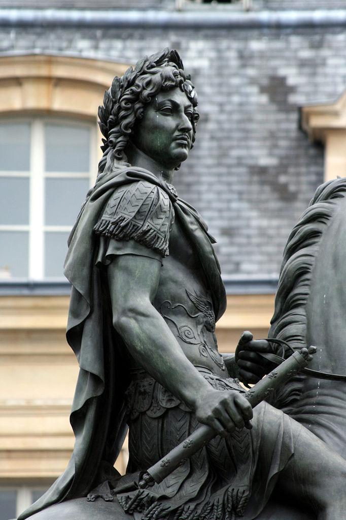Statue of Louis XIV (a close-up), 1816–1828, Paris
