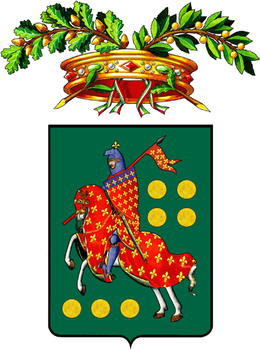 Coat of arms of the province of Prato, Tuscany, Italy