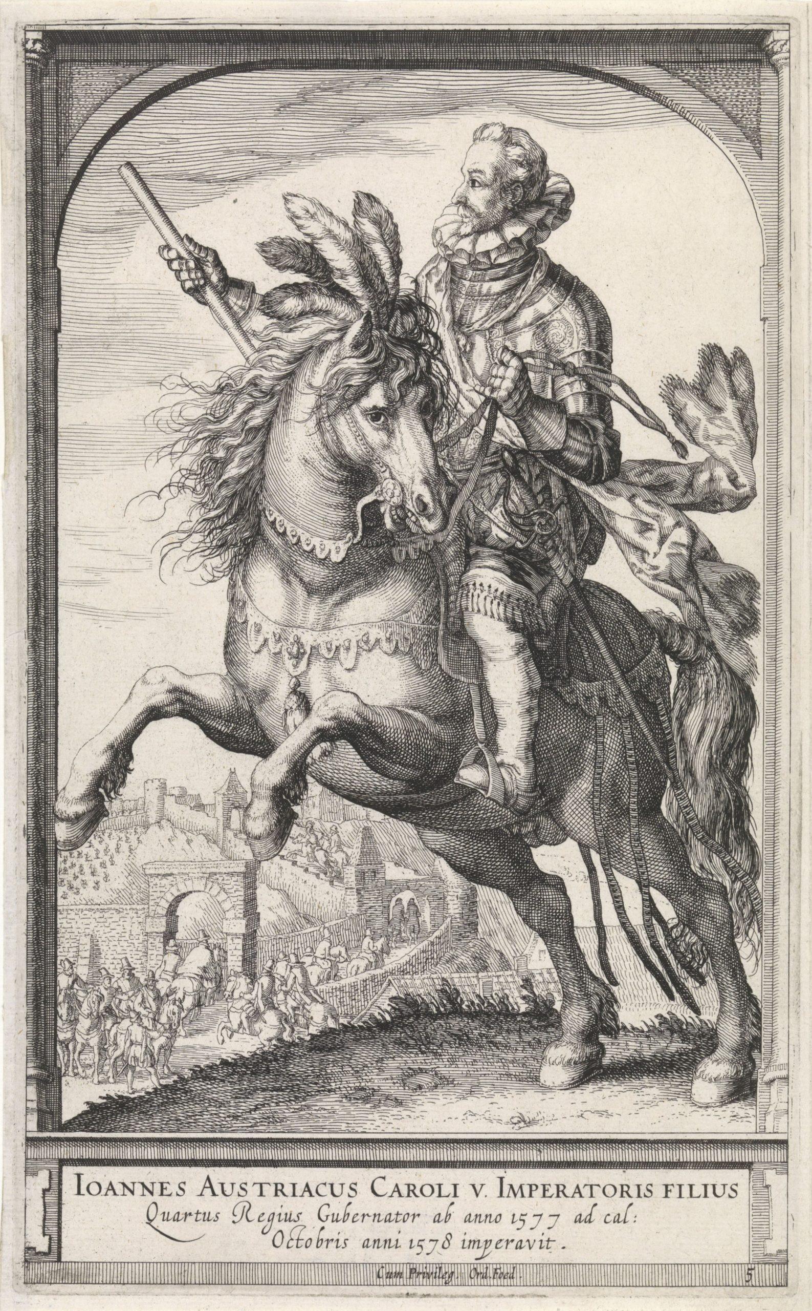 John of Austria, 1591 - 1632, Hessel Gerritsz, Amsterdam, Netherlands