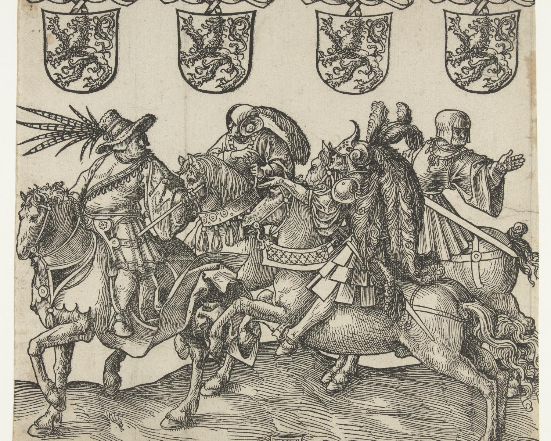 Floris II, Dirk VI, Floris III and Dirk VII, 1518, Jacob Cornelisz van Oostsanen, Amsterdam, Netherlands