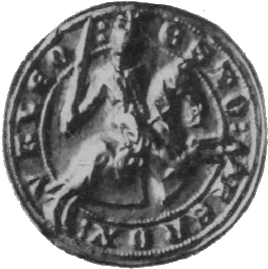Seal of Robert de Brus, 5th Lord of Annandale, 1291