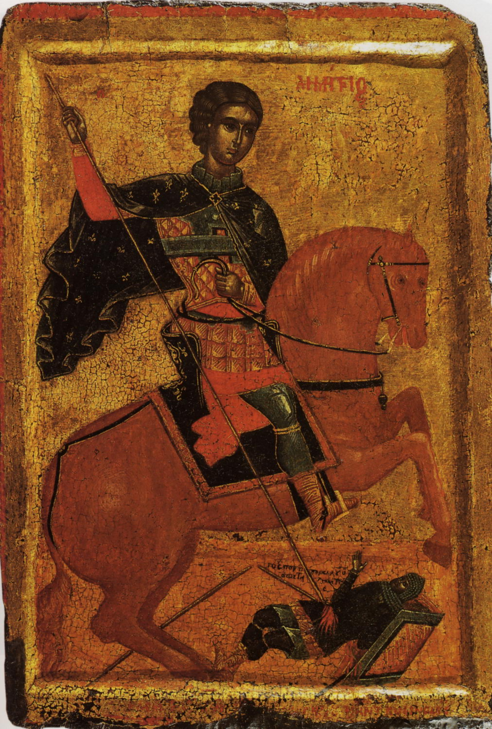 Saint Demetrius, 1500-50, school of Andreas Ritzos, Macedonia