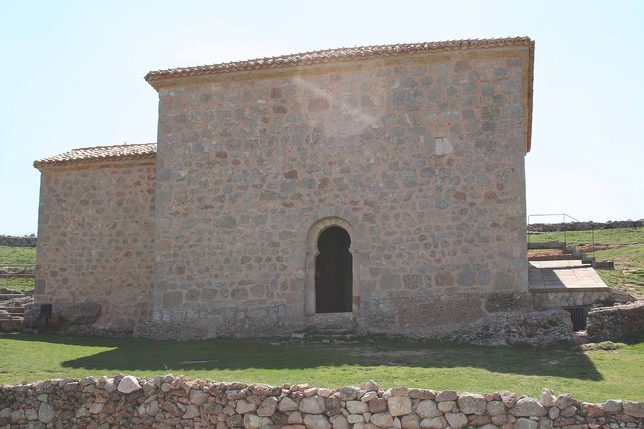 Hermitage of San Baudelio, 11th century, Casillas de Berlanga, Soria, Spain