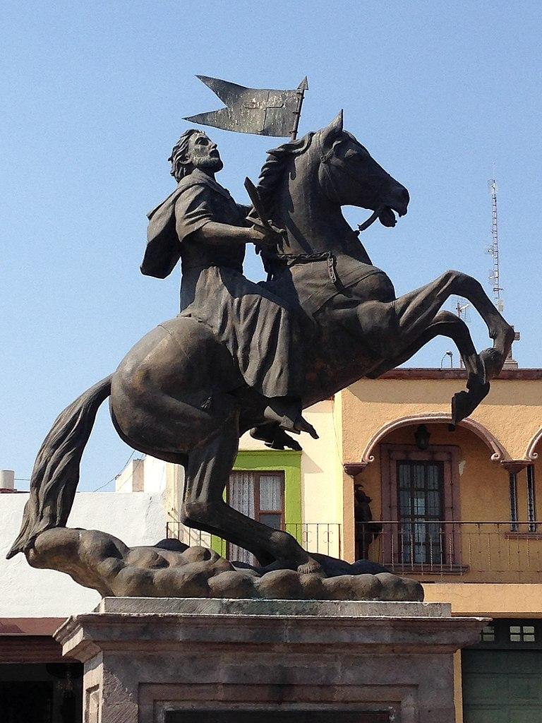 Sculpture of Saint James, 1996, Abraham Gonzalez, Mexico