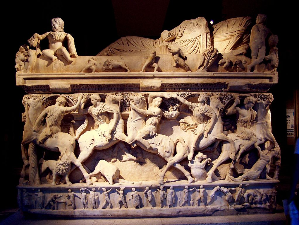 Sydamara sarcophagus, 2nd half of the 3rd century, Konya, modern Turkey