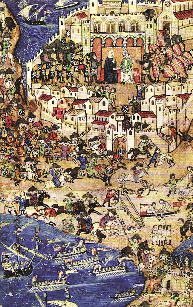 The fall of Tripoli to the Mamluks, April 1289, 13th-14th centuries (?), ?