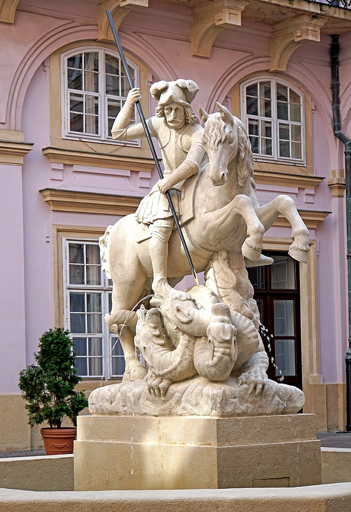 Statue of Saint George and The Dragon, ?, Bratislava, Slovakia