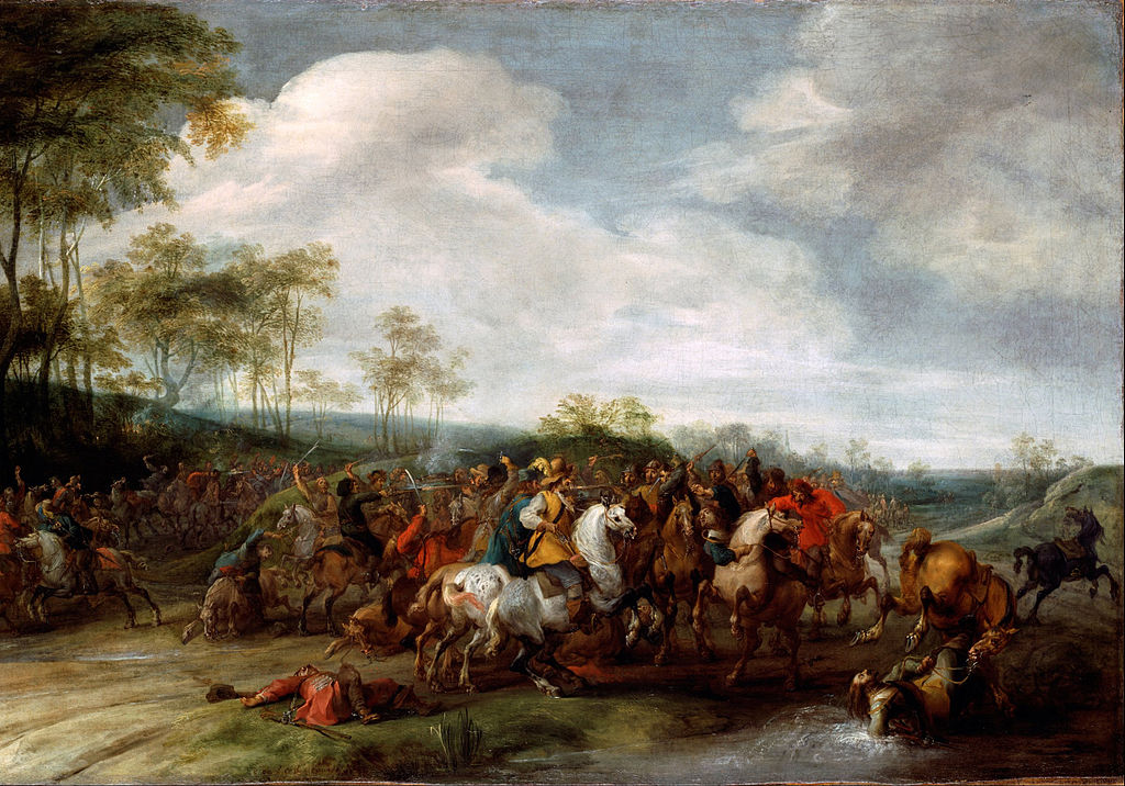Cavalry Skirmish, cr.1610-41, Peter Snayers, Flemish