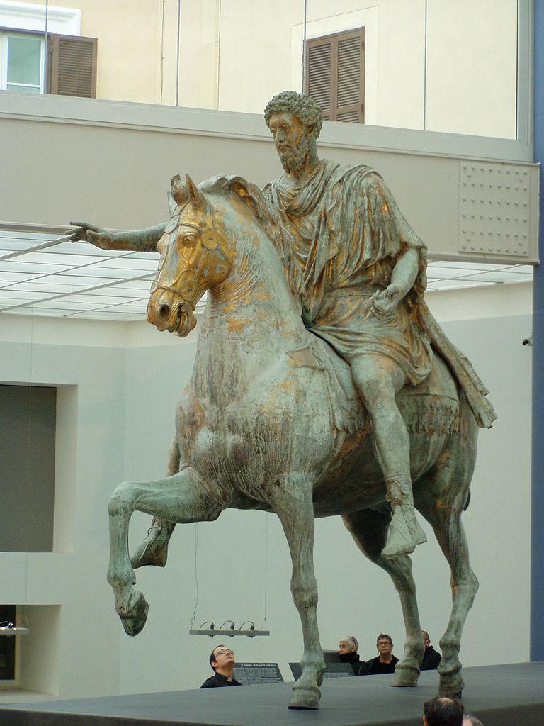 Equestrian Statue of Marcus Aurelius, cr. 175 AD, Rome