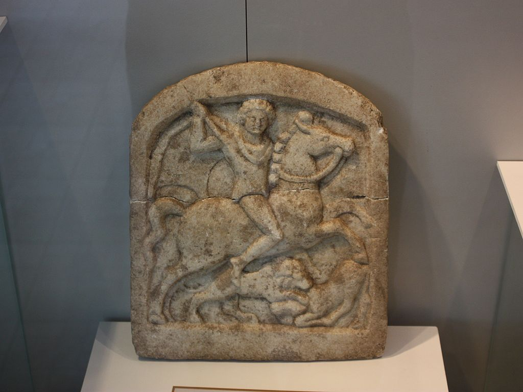 Votive tablet showing a Thracian horseman, ?