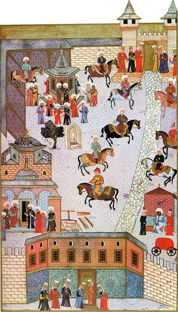 Topkapi palace, 1523, Istanbul, Ottoman Empire