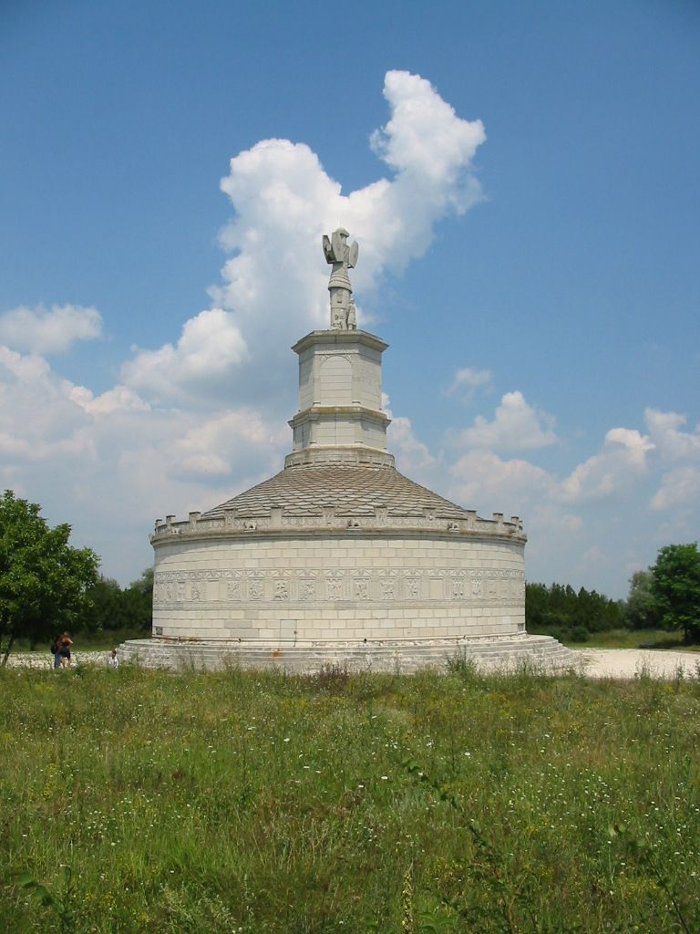 Tropeum Traiani, cr. 109 AD, reconstructed in 1977, Roman/Romanian