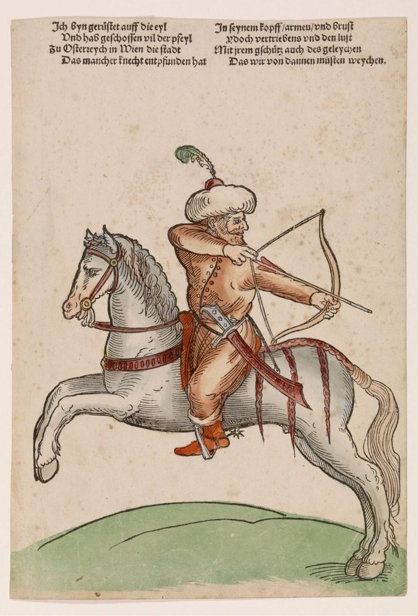 Turkish Archer, cr. 1530, Niklas Stoer, Germany