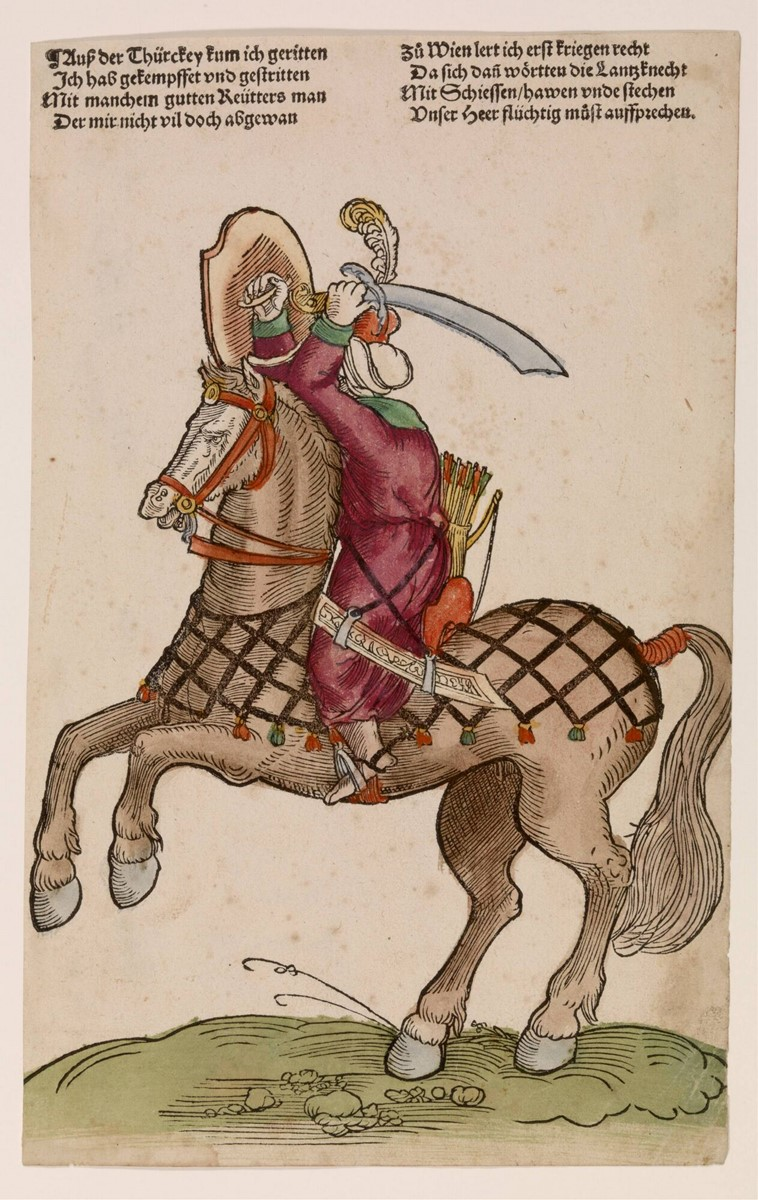 Turkish Horseman, cr. 1530, Niklas Stoer, Germany