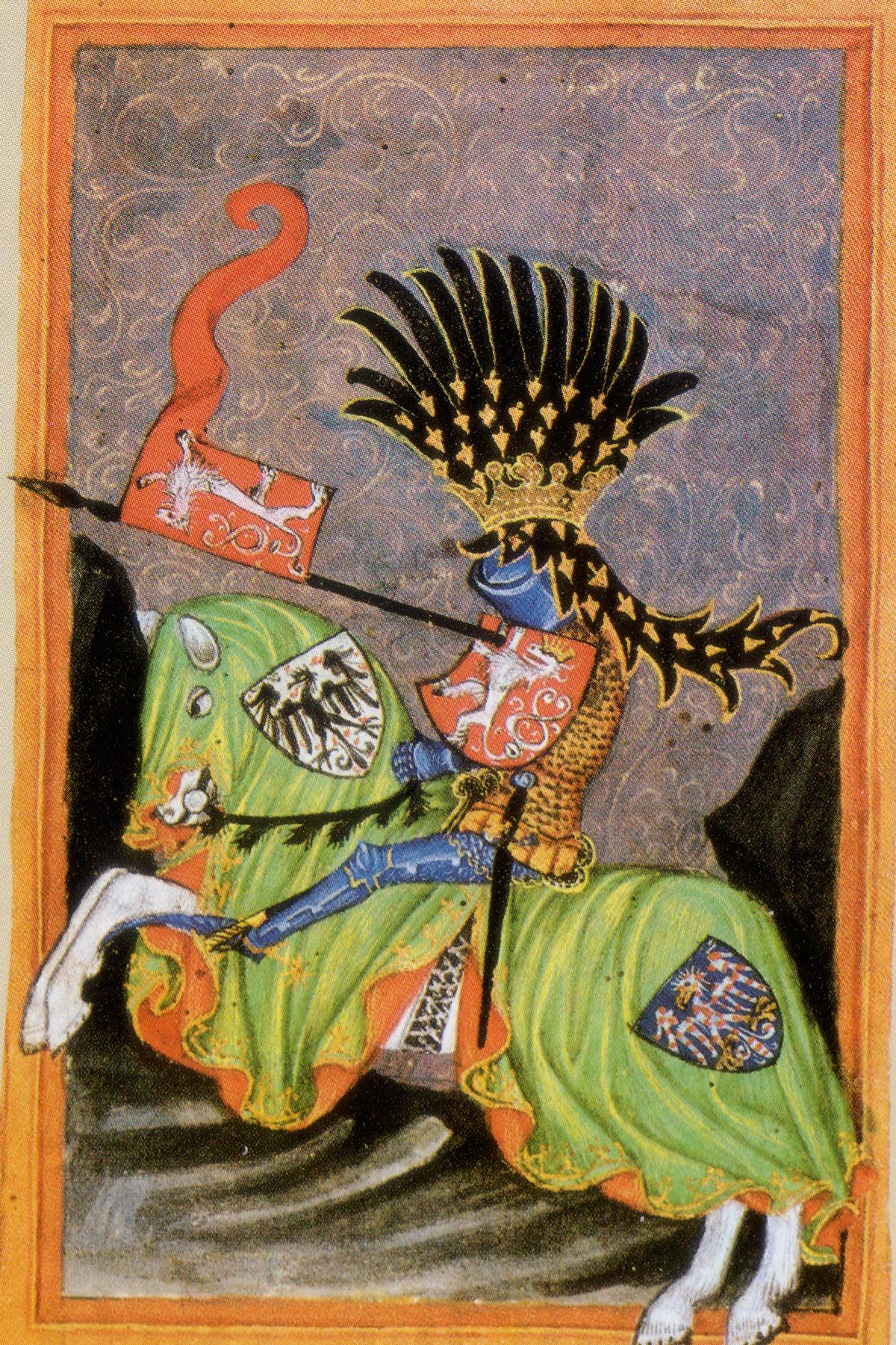 Wenceslaus I of Bohemia, early 15th century, Iglau, Bohemia, now Jihlava, Czech Republic