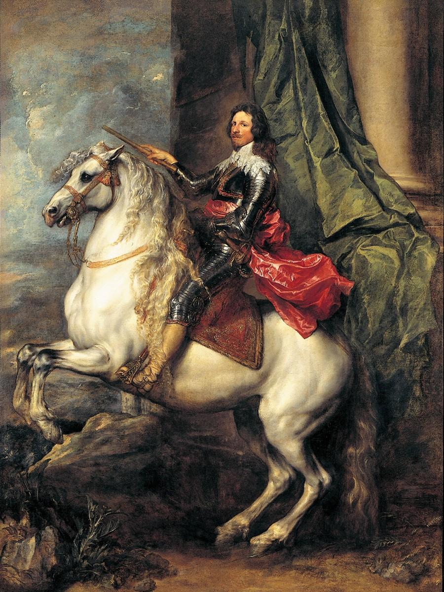 Equestrian portrait of Prince Tomaso of Savoy-Carignan, son of Charles Emmanuel I, Duke of Savoy, 1634-5, Anthony van Dyck