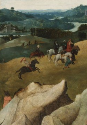 The Way to Calvary (detail), cr. 1505–15, Jan van Eyck (after), Netherlandish