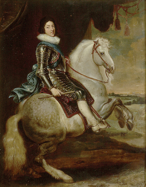 Louis XIII on Horseback, cr. 1622, probably by or after a Flemish painter