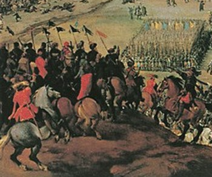 Battle of White Mountain (detail), 1620, Peter Snayers, Flemish