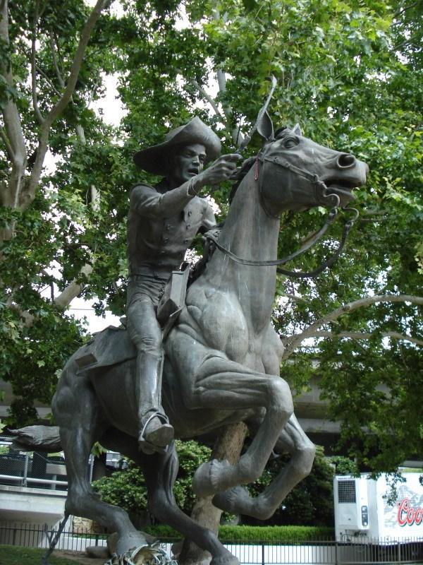 Pony Express Rider, 1976, Sacramento, U.S.A.
