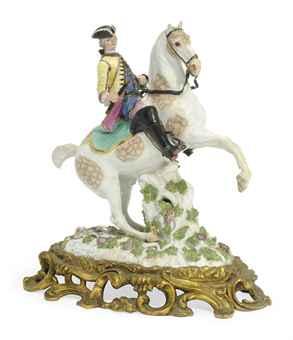 A Meissen Equestrian Figure,cr. 1745-50
