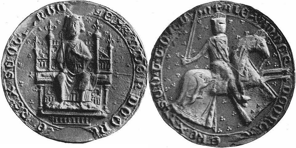 Second seal of Alexander III (1249 - 1286)