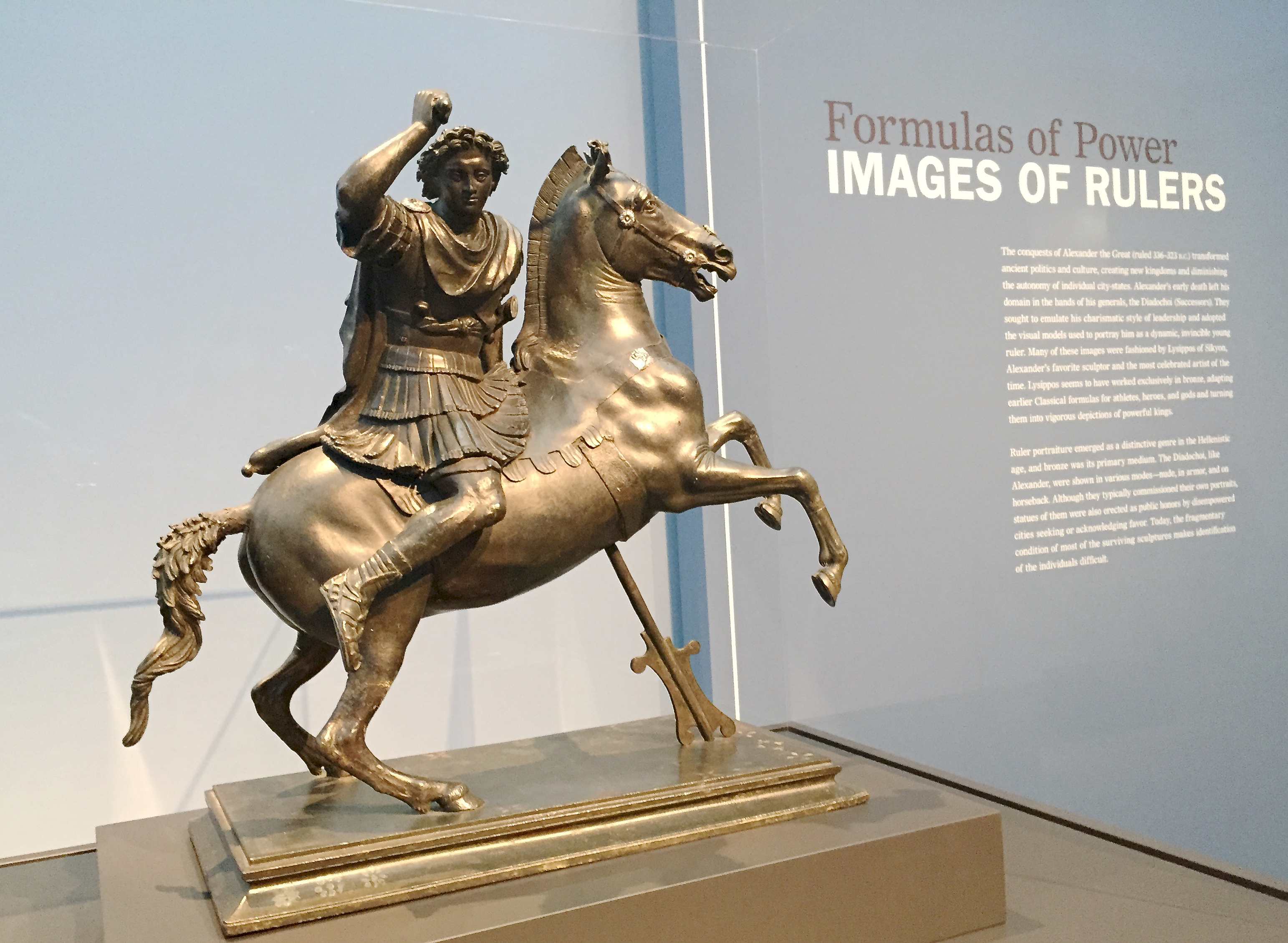 Alexander the Great on Horseback, 100-1 BC, Roman