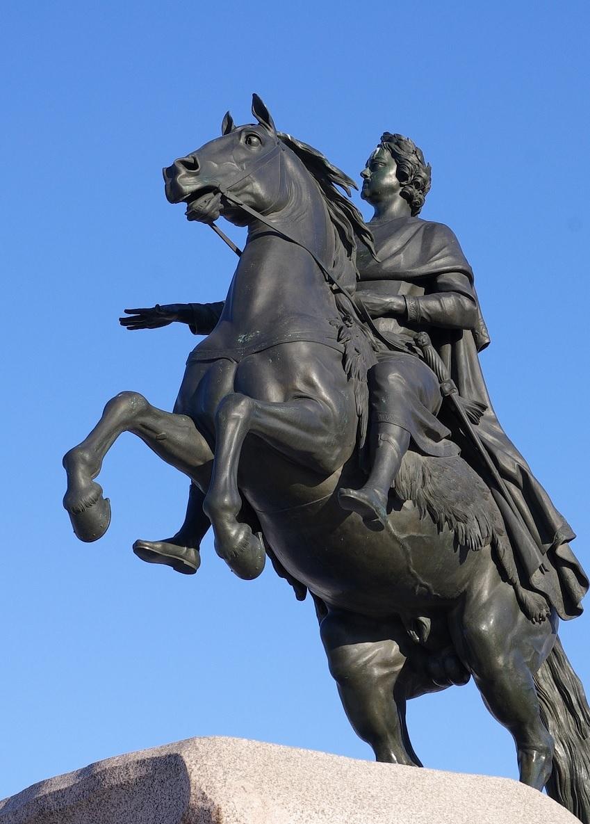 Bronze Horseman, 1782,Saint-Petersburg, Russia
