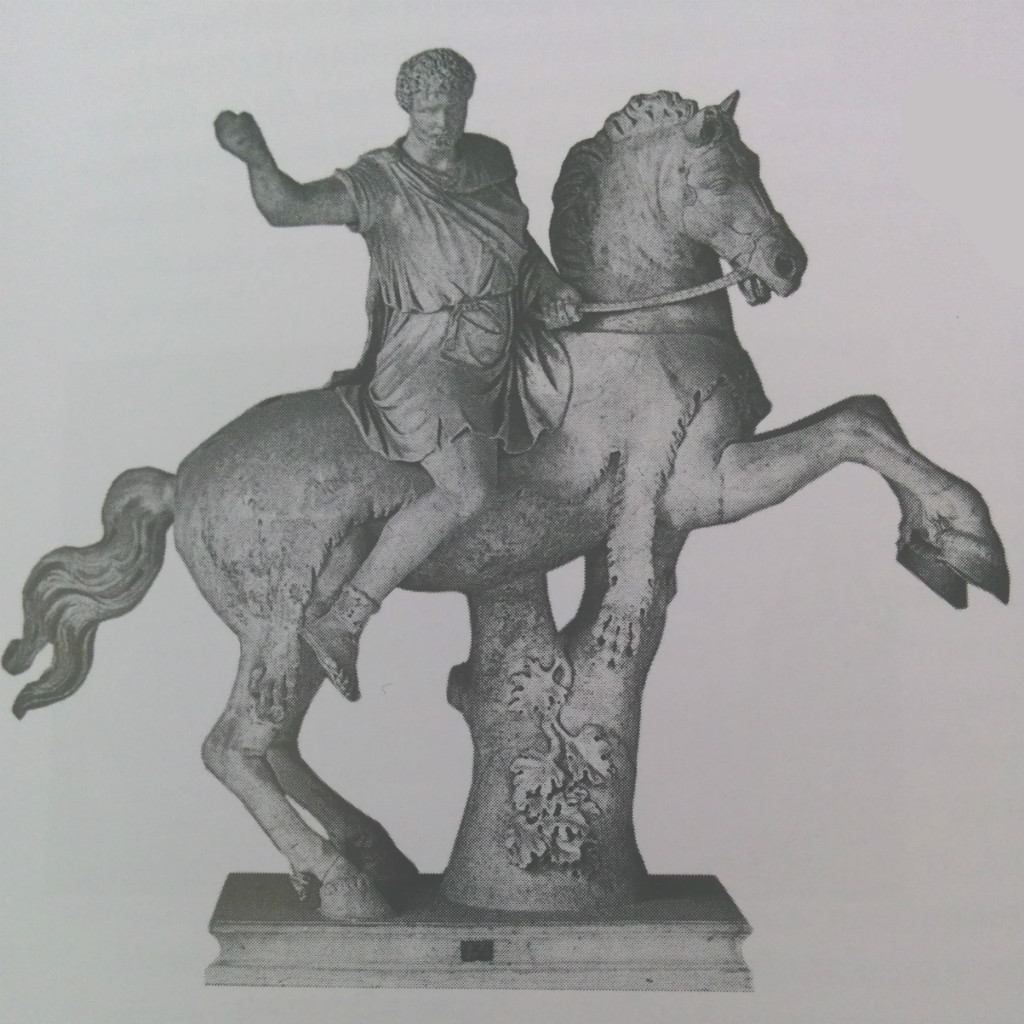 Equestrian statue of Commodus, 2nd century AD, Vatican museums