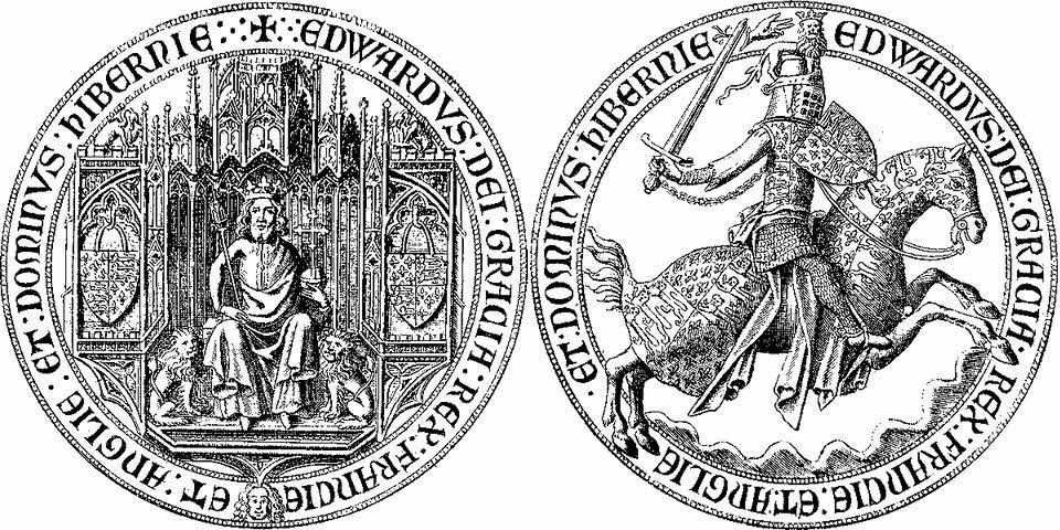 Fourth seal of Edward III (1341-60 and 1370-2)
