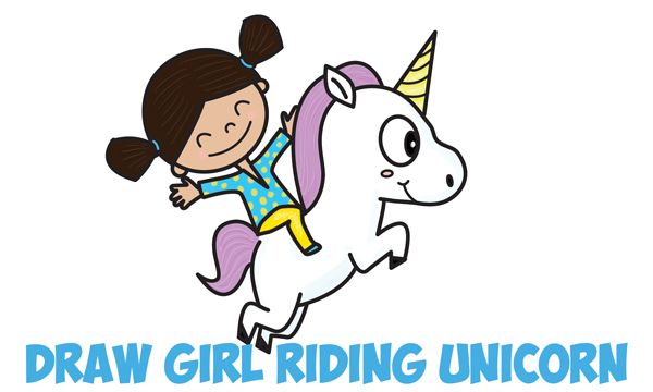 Girl Riding a Unicorn, 2010s